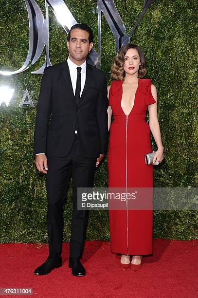 Bobby Cannavale and Rose Byrne attend American Theatre Wing's 69th Annual Tony Awards at Radio City Music Hall on June 7, 2015 in New York City.