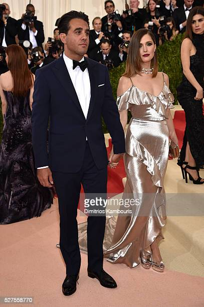 Bobby Cannavale and Rose Byrne attend the 'Manus x Machina Fashion In An Age Of Technology' Costume Institute Gala at Metropolitan Museum of Art on...