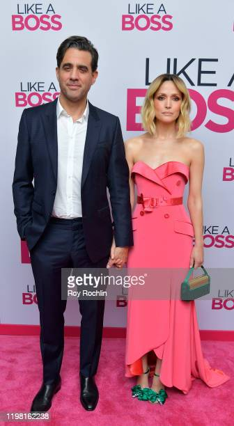 Bobby Cannavale and Rose Byrne attend the Paramount Pictures' Like A Boss World Premiere at the SVA Theater on January 7 2020 in New York New York