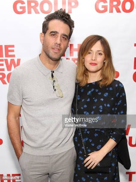 Bobby Cannavale and Rose Byrne attend the The New Group World Premiere of Hamish Linklater's 'The Whirligig' at Green Fig's Social Drink and Food...