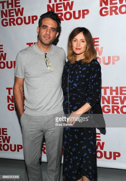 Bobby Cannavale and Rose Byrne attend the 'The Whirligig' OffBroadway Opening Night at Social Drink and Food Club Terrace on May 21 2017 in New York...