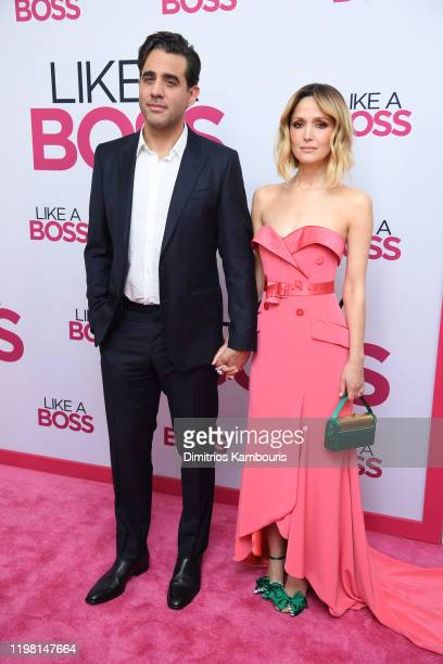Bobby Cannavale and Rose Byrne attend the world premiere of Like A Boss at SVA Theater on January 07 2020 in New York City