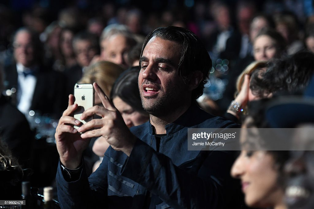 Bobby Cannavale attends the 31st Annual Rock And Roll Hall Of Fame Induction Ceremony at Barclays Center of Brooklyn on April 8, 2016 in New York City.