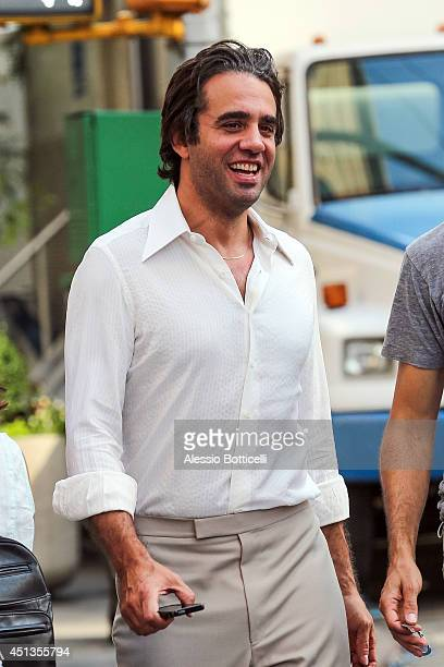 Bobby Cannavale is seen on the set of Untitled Rock n Roll Project on June 27 2014 in New York City