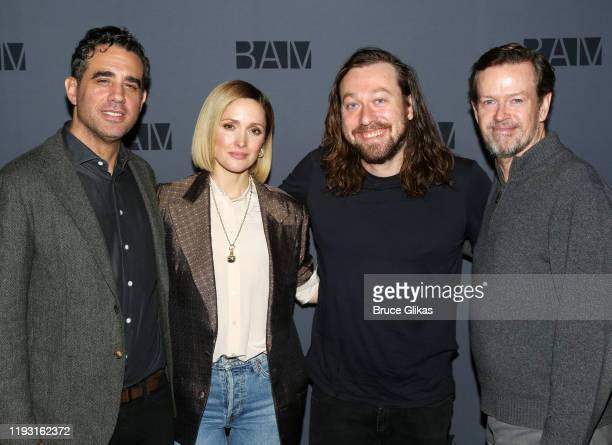 Bobby Cannavale Rose Byrne Dire3ctor Simon Stone and Dylan Baker pose at a photo call for the upcoming production of Medea at BAM on December 10 2019...