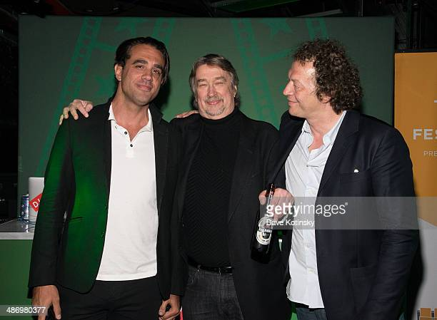 Bobby Cannavale Tribeca Film Festival Director Geoffrey Gilmore and Tribeca Film Festival Creative Director Frederic Boyer attends Tribeca Film...