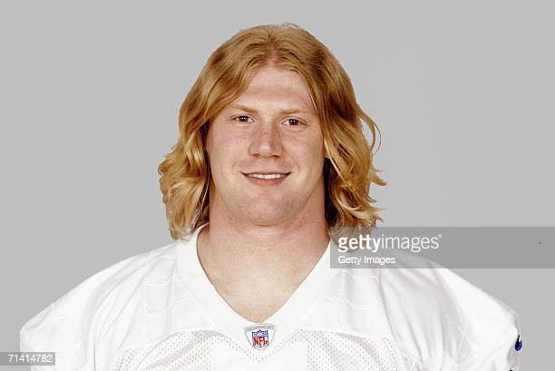 Bobby Carpenter of the Dallas Cowboys poses for his 2006 NFL headshot at photo day in Dallas Texas