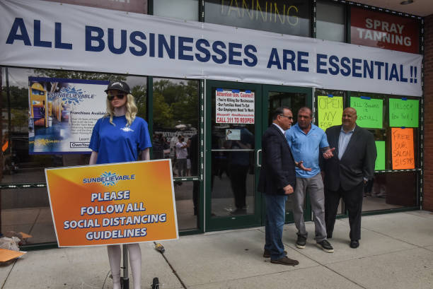 NY: Staten Island Tanning Salon To Reopen Despite City Ban On Non Essential Businesses