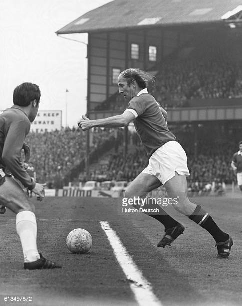 Bobby Charlton plays his last game oodbye Bobby its been great watching you Bobby Charlton one of soccer's best loved players bowed out of the game...