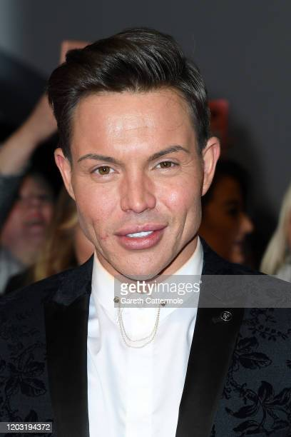 Bobby Cole Norris attends the National Television Awards 2020 at The O2 Arena on January 28 2020 in London England