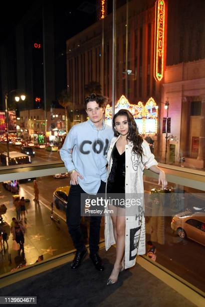 Bobby Coleman and Ciara RIley Wilson attend Ciara Riley Wilson's 18th birthday party at The Venue of Hollywood on March 31 2019 in Hollywood...