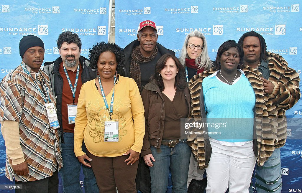 Bobby Coleman, Director Carl Deal, Victoria Lessin, Director Tia Lessin, Producer Joclyn Barnes, Director of Photography Kimberly Roberts, and, Scott Roberts attend a screening of 'Trouble The Water' at the Library Theatre during the 2008 Sundance Film Festival on January 20, 2008 in Park City, Utah.