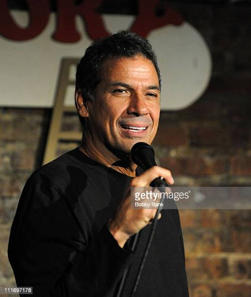 Bobby Collins performs at The Stress Factory Comedy Club on May 9, 2009 in New Brunswick, New Jersey.