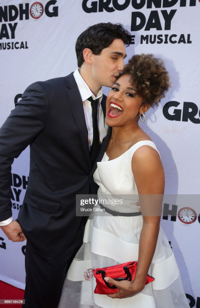 """""""Groundhog Day"""" Broadway Opening Night - Arrivals & Curtain Call : News Photo"""