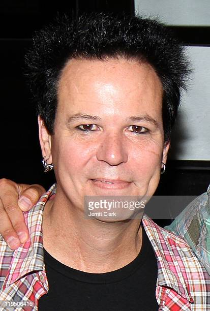 Bobby Dall of Poison poses after their concert at Nassau Coliseum on July 20 2011 in Uniondale City