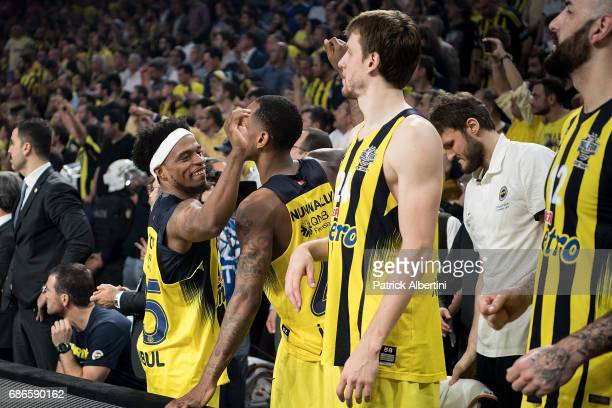 Bobby Dixon #35 of Fenerbahce Istanbul in action during the Championship Game 2017 Turkish Airlines EuroLeague Final Four between Fenerbahce Istanbul...