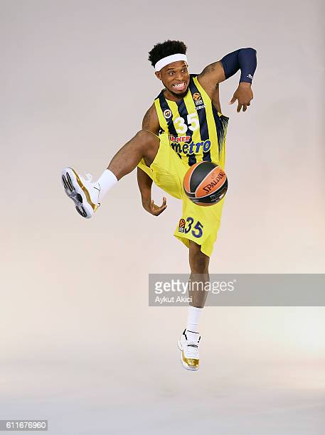 Bobby Dixon of Fenerbahce Istanbul poses during the 2016/2017 Turkish Airlines EuroLeague Media Day at Fenerbahce Ulker Sports Arena on September 29...