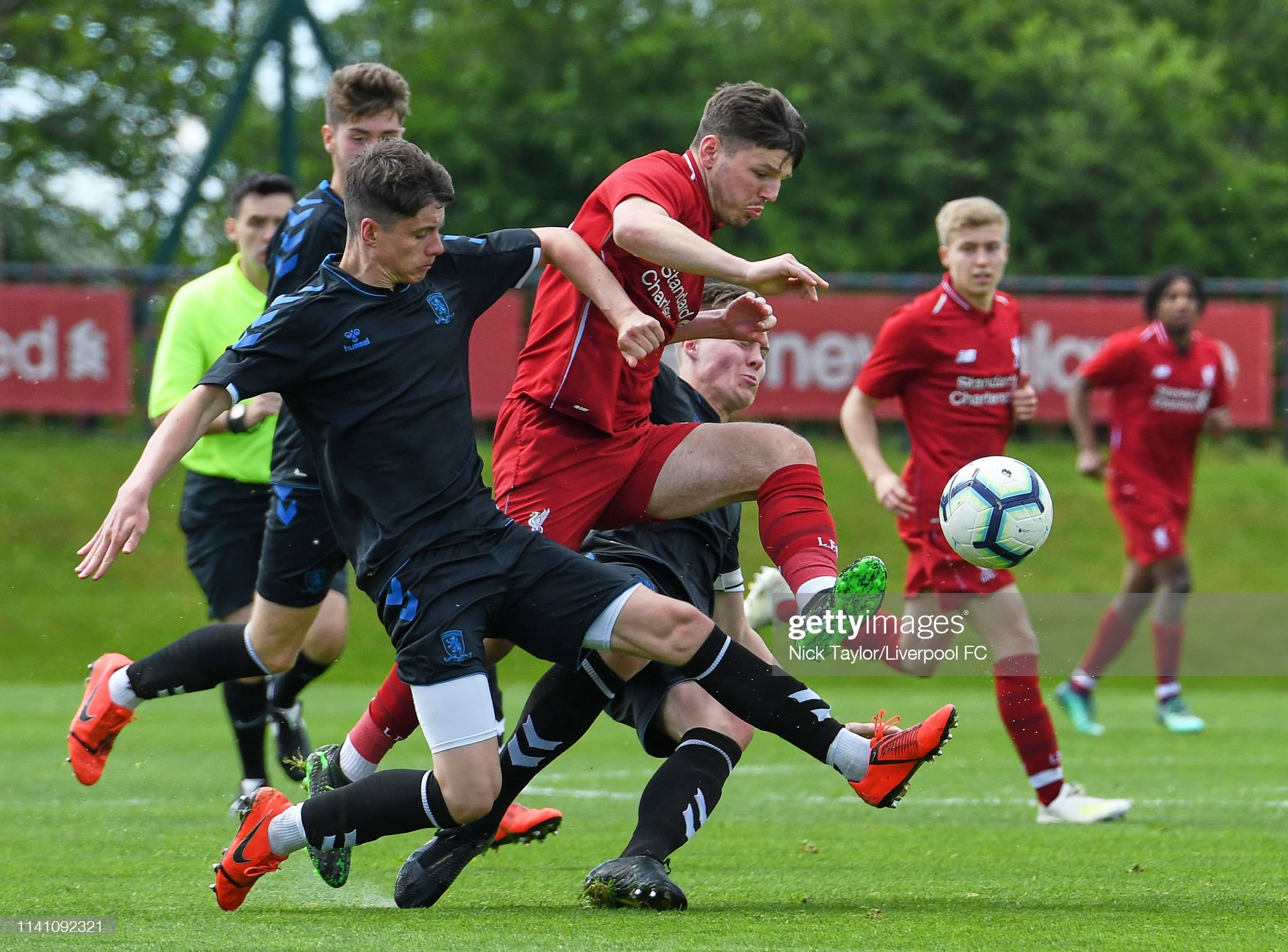 Liverpool v Middlesbrough - U18 Premier League : News Photo