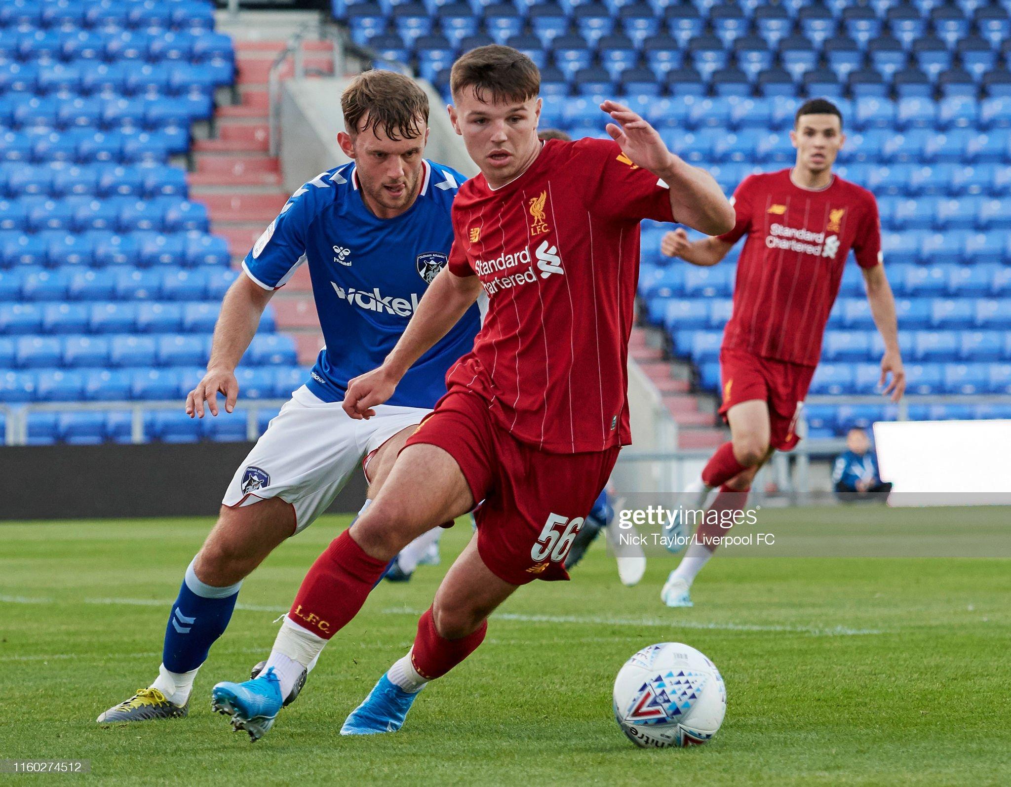 Oldham Athletic v Liverpool U21: Checkatrade Trophy : News Photo