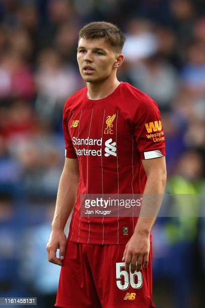 Bobby Duncan of Liverpool during the PreSeason Friendly match between Tranmere Rovers and Liverpool at Prenton Park on July 11 2019 in Birkenhead...