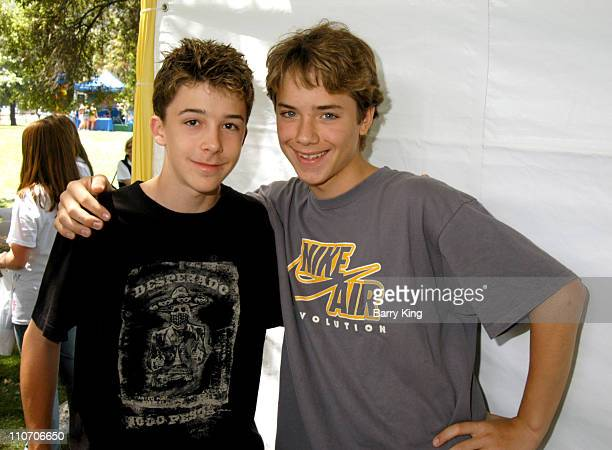 Bobby Edner and Jeremy Sumpter during Accenture 4th Annual Walk For Kids to Benefit the Los Angeles Ronald McDonald House at Griffith Park in Los...