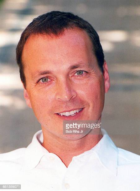 Bobby Farrelly of the Farrell Brothers during photo shoot on July 8 1998 in Beverly Hills CA