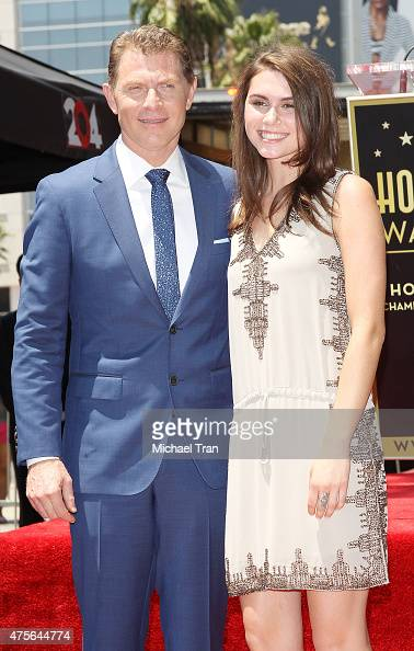 Bobby Flay and daughter, Sophie Flay attend the ceremony ...