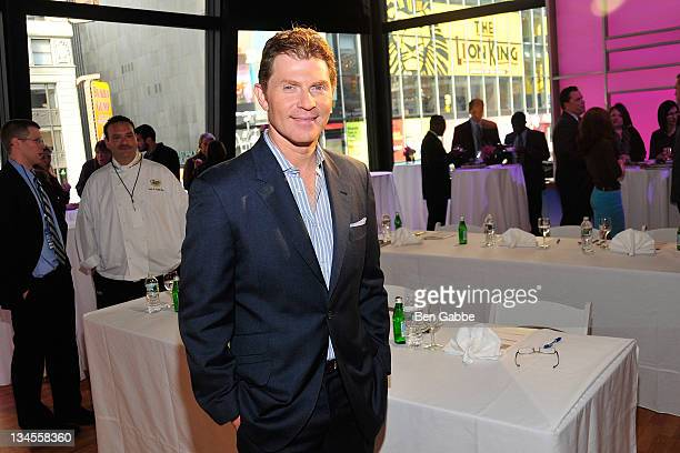 Bobby Flay attends the Aetna Healthy Food Fight regional semifinal cookoff at ABC Studios on December 2 2011 in New York City