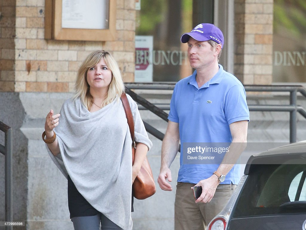 Bobby Flay Seen Leaving A Restaurant With Woman May 11 2017 In New York