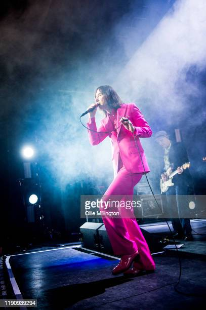Bobby Gillespie and Andrew Innes of Primal Scream perform perform at O2 Forum Kentish Town on November 29 2019 in London England