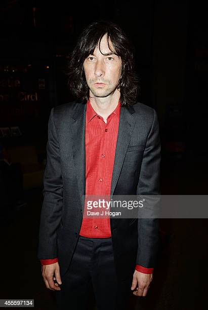 "Bobby Gillespie attends the ""20,000 Days on Earth"" Gala preview screening at Barbican Centre on September 17, 2014 in London, England."