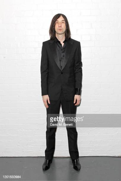 Bobby Gillespie attends the Burberry Autumn/Winter 2020 show during London Fashion Week at Kensington Olympia on February 17, 2020 in London, England.