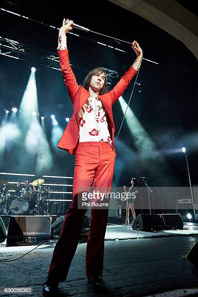 Bobby Gillespie of Primal Scream performs at O2 Brixton Academy on December 15, 2016 in London, England.