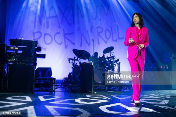 Bobby Gillespie of Primal Scream performs at Perth Concert Hall on December 15, 2019 in Perth, Scotland.
