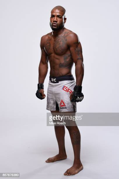 Bobby Green poses for a portrait during a UFC photo session on October 4 2017 in Las Vegas Nevada