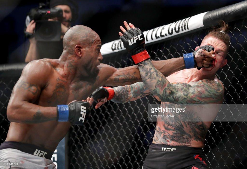 UFC Fight Night: Erik Koch v Bobby Green : News Photo