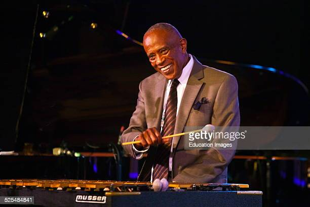 Bobby Hutcherson And His Quartet Preforms In The Nightclub At The Monterey Jazz Festival Monterey California