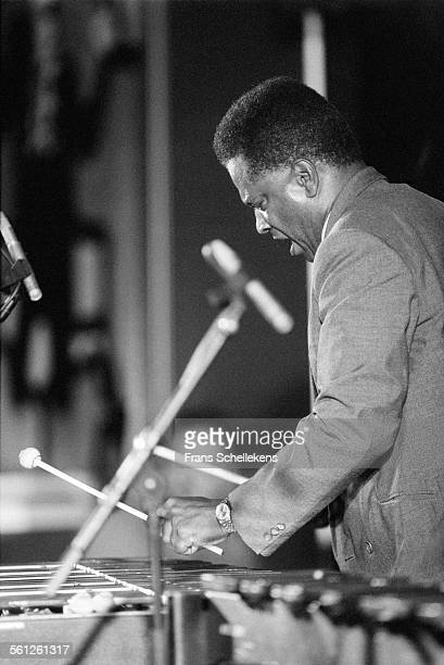 Bobby Hutcherson, vibraphone, performs on July 10th 1993 at the North Sea Jazz Festival in the Hague, Netherlands.