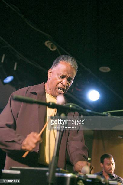 Bobby Hutcherson, vibraphone, performs with the Heath Brothers at the North Sea Jazz Festival on July 14th 2002 in Amsterdam, Netherlands.