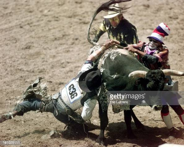 Bobby Joe Kramps Scored A 68 During This Ride On Bull By The Name News Photo