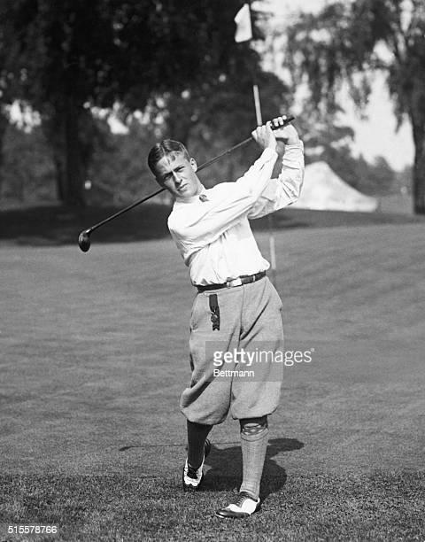 Bobby Jones: American golf champion. Photo, 1922.
