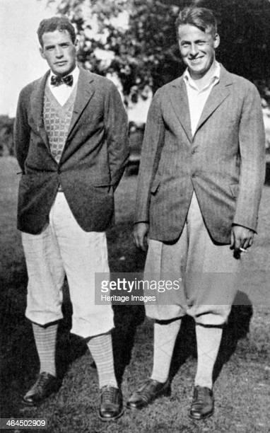 Bobby Jones and fellow golfer c1920s