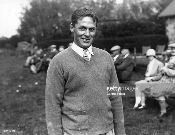 Bobby Jones champion American golfer winning the British Open three times and the US Open four times Original Publication People Disc HW0142