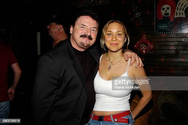 Bobby Kimball and Alison Kimball attend Calabasas Magazine Celebrates Its First Annual Music Issue at House of Blues on August 23 2005 in Hollywood CA