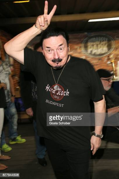 Bobby Kimball attends the Man Doki Soulmates concert during tthe Sziget Festival at Budapest Park on August 8 2017 in Budapest Hungary Tthe Sziget...