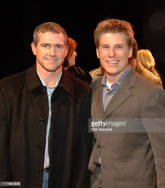 Bobby Labonte and Jamie McMurray during Sprint and SunTrust presents Sound & Speed - Day1 at Wildhorse Saloon in Nashville, TN., United States.