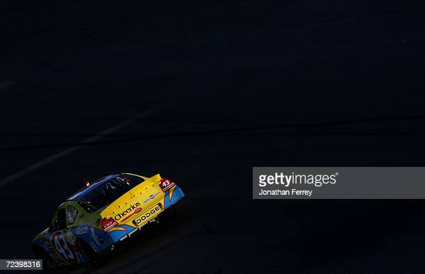 Bobby Labonte drives the Cheerios/Betty Crocker during qualifying for the NASCAR Nextel Cup Series Dickies 500 on November 3 2006 at Texas Motor...