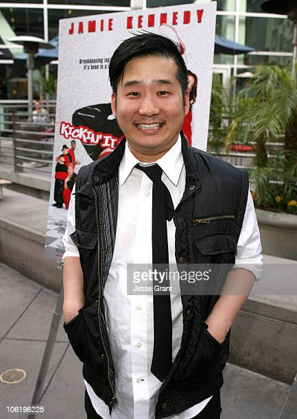 Bobby Lee during Kickin' It Old Skool Los Angeles Premiere Red Carpet at Arc Light in Hollywood California United States