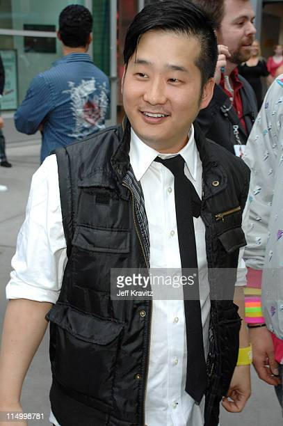 Bobby Lee during Kickin' It Old Skool Los Angeles Premiere Red Carpet at ArcLight in Los Angeles California United States
