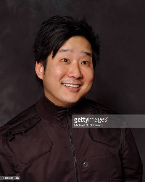 Bobby Lee poses at the Hollywood Improv on February 28 2008 in Hollywood California